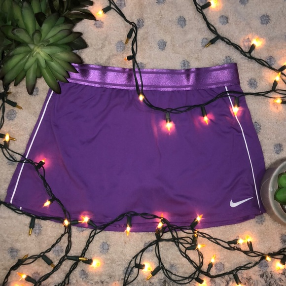 Nike Dresses & Skirts - Purple Nike Tennis Skirt